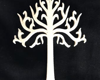 LOTR/Lord of the Rings/White Tree of Gondor/ornament/cake topper/wedding