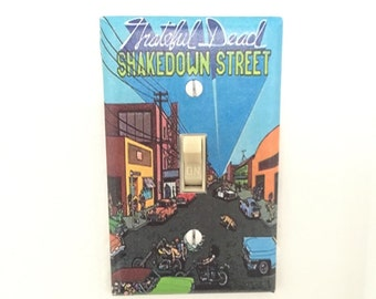 Grateful Dead Shakedown Street Light Switch Plate Cover