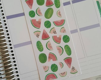 Delicious Watercolor Watermelon Stickers