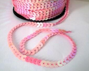 3 m tape stripe sequin pink (1) 6mm