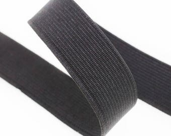 Spool of 25 m 30mm black elastic