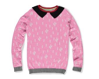 Pink Cacti Sweater