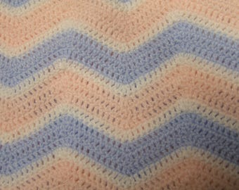 Chevron Crochet Lap Blanket