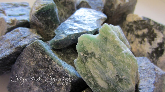 Noble Serpentine Raw Serpentine Crystal Healing Energy Healing Energy Stones Wire Wrapping Craft Supplies