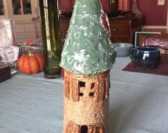 Pottery Fairy House