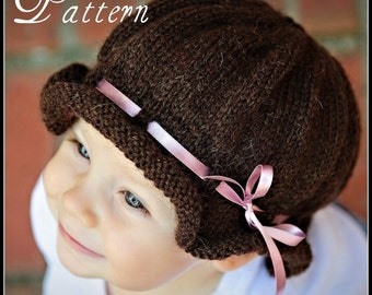 make your own Little Miss Muffet (DIGITAL KNITTING PATTERN) baby toddler child