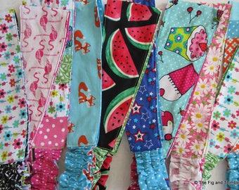 Fabric Headband Women Teens Girls Reversible Hairband - Foxes, Flamingos, Cupcakes... Pick one