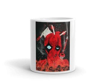 Deadpool Takes A Beating Mug