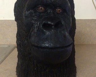 Resin chimpanzee