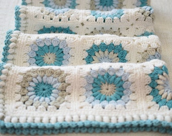 Crochet Blanket Pattern, Photo Prop, Aydan 2