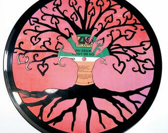 Tree of Love Vinyl Record Art