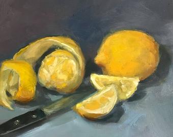 Lemons and peel