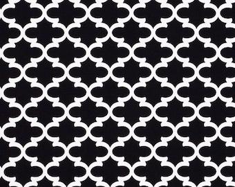 Premier Prints Fulton in Shadow Black 7 oz Cotton Home Decor fabric, 1 yard