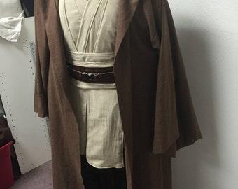 Obi Wan Kenobi Costume Tunic Set and Robe