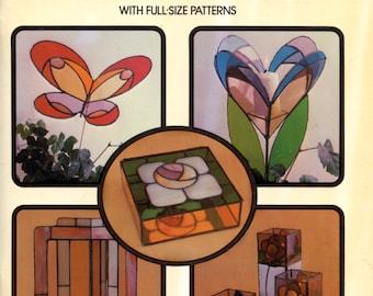 Contemporary Stained Glass Projects by Ed Sibbett, Jr.  | Craft Book