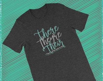 Funny Grammar Tee, Grammar TShirt, Grammar Police, Grammar Lover Gift, Grammar Gift, Teacher Gift, English Major Gift, Grammar Funny T Shirt