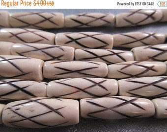 ON SALE 20% OFF African Trade Bones Beads 16pcs