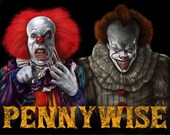 Pennywise Clown Old And N...