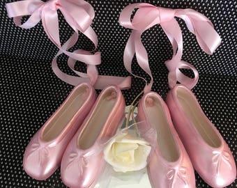 "5.5"" Ceramic Ballet Slipper- Set of Two-Gift Them To Someone!"