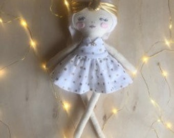 Dove - Handcrafted Dress Up Doll