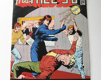 Ms Tree 3D comic book, Renegade Press, 1985 vintage comic book