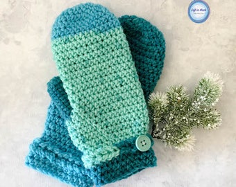 Frozen Fingers Crochet Mittens PDF PATTERN PRINTABLE