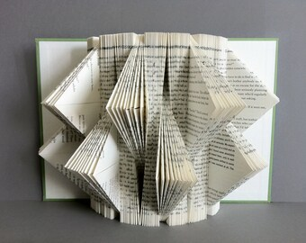 Plegado libro Arte 3D libro escultura libro Origami arte página del libro / / plegado libro escultura / guardería temática del libro / libro escultura / arte del libro
