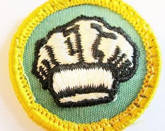 "Cadette Girl Scout Badge ""Chef"" circa 1960's"
