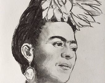 Portrait of Frida Kahlo 7