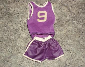 Vintage 70s BIG JIM - Basketball Sport Outfit - Mattel