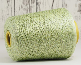 Cotton-linen yarn on cone, Italy, cotton with linen (Italy) on cone, per 100g: Li_Co_27