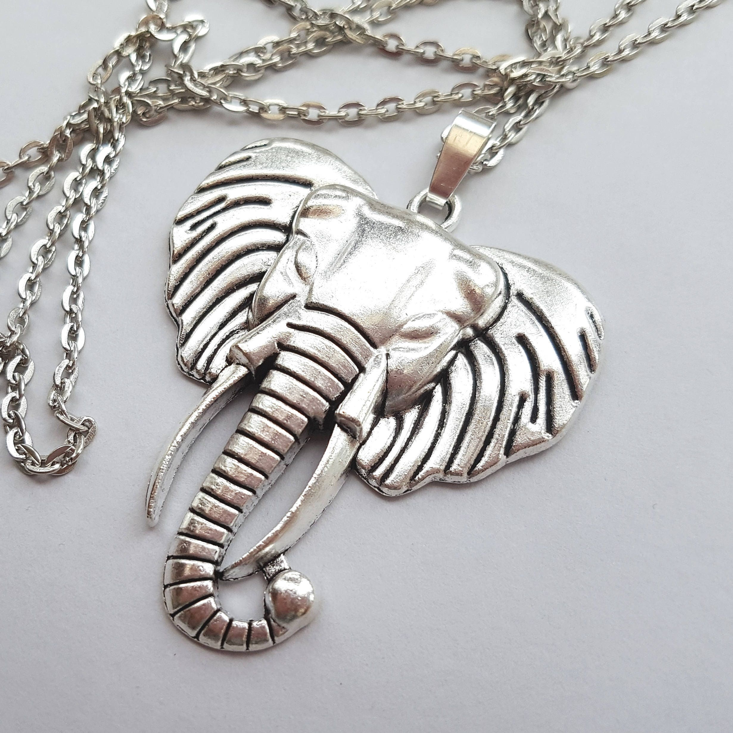 lane luke antiques head chain vintage best f elephant necklace rl pendant razza item link pic ruby large