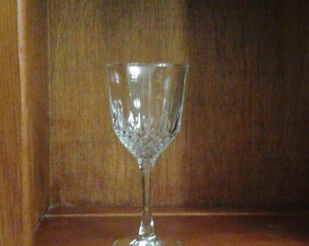 Wine goblets, lead crystal by Godlinger