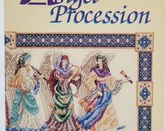 Counted cross stitch pattern | Teresa Wentzler | Angel Procession