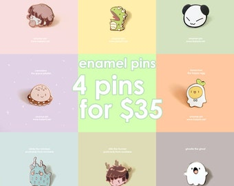 Mix and Match Enamel Pins