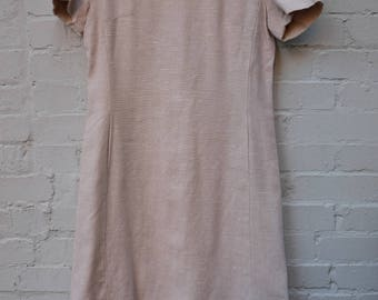 Heavyweight Linen Dress with Pockets