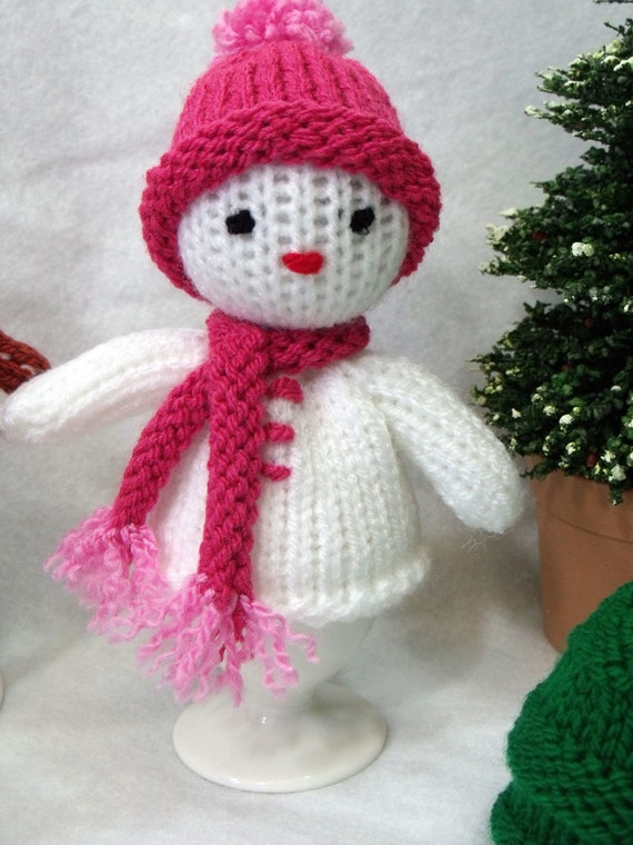 Christmas Egg Cosy Knitting Pattern Christmas Decoration