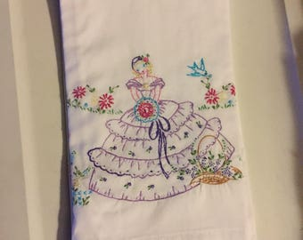 Embroidered Pillowcase