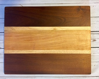 Personalized Cutting Board, Engraved Serving Board, Custom Wedding Gift, Personalized Housewarming Gift, Serving Tray, Multi-Wood Reversible