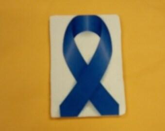 Colon cancer ribbon magnet