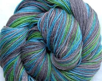 Superwash Merino/Bamboo/Nylon Hand Painted Yarn