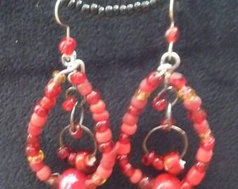 Red hoops