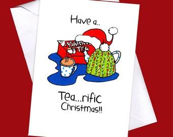 Have a terrific Christmas, funny Christmas card,funny Christmas ,Irish,  Christmas card, funny Irish christmas