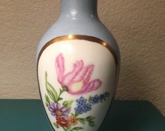 Gorgeous Copeland floral vase