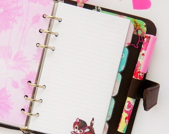 Kitty Personal Planner Note Paper Refill