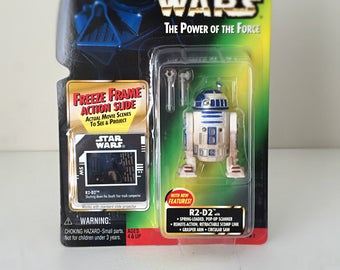 Star Wars R2-D2 Action Figure, R2D2 Toy Original Trilogy Star Wars Gift, The Last Jedi, Robot Droid Kids Toy