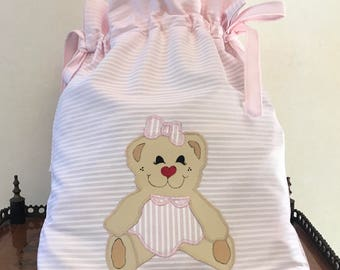 Bag first change teddy bear and Orsetta
