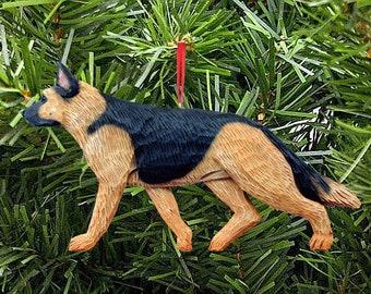 GERMAN SHEPHERD ORNAMENTS- Shepherd Ornaments-Dog Breed Ornaments-All Coat Colors