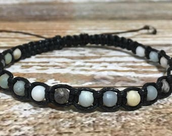 Amazonite Bracelet / Healing Crystal Bracelet / Chakra Bracelet / Amazonite Jewelry