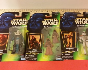 Star Wars, The Power of the Force Action Figures, Kenner/Hasbro, 1996